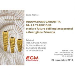 Corso di Chirurgia Implantare – Prof. Adriano Piattelli, Dr. Renzo Madaschi, Dr. Fabrizio Ghirardi, Dr. Bruno Scalise