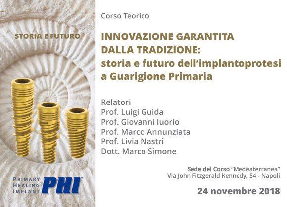 Corso di Chirurgia Implantare – Prof. Luigi Guida, Prof. Giovanni Iuorio, Prof. Marco Annunziata, Prof. Livia Nastri, Dott. Marco Simone