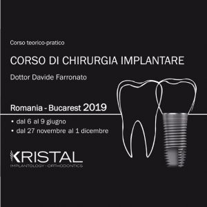 Corso di chirurgia implantare 2019