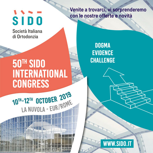 Vi aspettiamo al 50th INTERNATIONAL CONGRESS 2019
