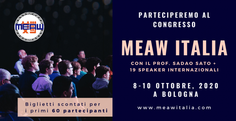 Congresso MEAW Italia Riprogrammato per il 2021