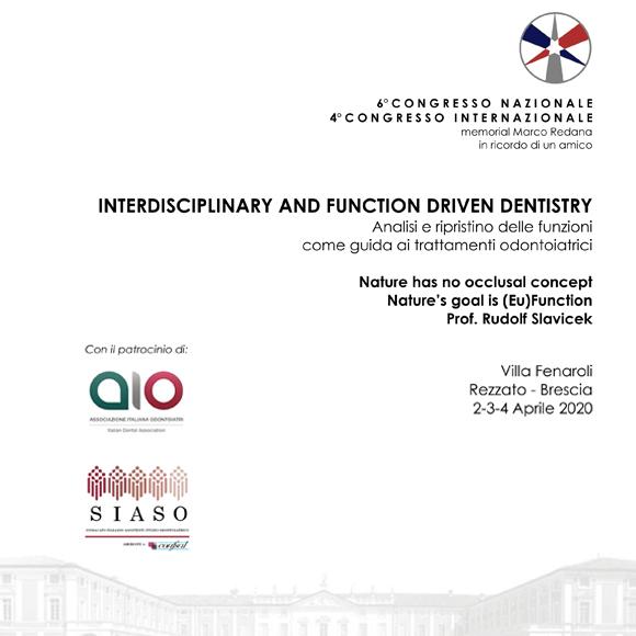 6° Congresso Nazionale – 4° Congresso Internazionale Riprogrammato per il 2021